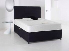 Sameday Delivery 7 Days a Week Single Double Bed King Black Light Grey Cream Headboard Options