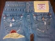 Womens True Religion Jeans Used