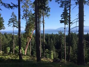 Large lot-  unobstructed ocean+mountain views, Gabriola Island