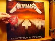 Metallica Master of Puppets LP