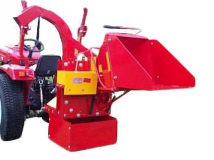 """8"""" Wood Chipper Shredder Mulcher Tractor PTO Driven Auto Feed 3PL Dandenong South Greater Dandenong Preview"""