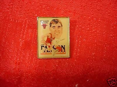 Chicago Bulls John Paxson Square Player Pin NBA