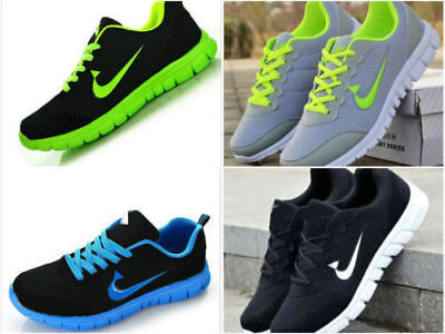 (MENS AND BOYS, SPORTS TRAINERS RUNNING GYM SIZES US6.5-12 FASHION  NEW)