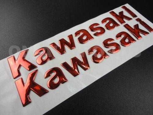 Red Kawasaki Sticker Ebay