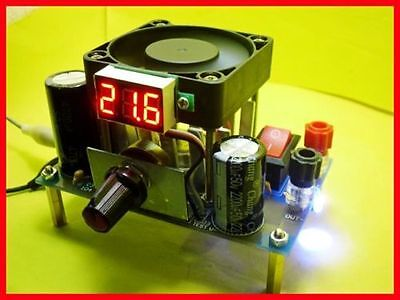 3a Voltage Digital Lm338k Power Adjustable Linear Voltage Regulator Module Diy