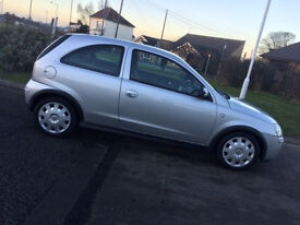 Vauxhall Corsa Design 1.2 16v 2003 53 Plate Mint Condition Silver