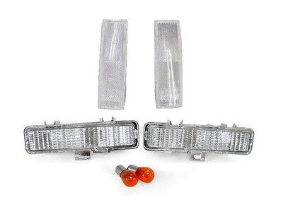 1983 1984 1985 1986 1987-1992 Chevy S10 CLEAR CORNER LIGHTS + BUMPER SIGNAL LAMP