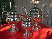 Coin Silver Tea Set