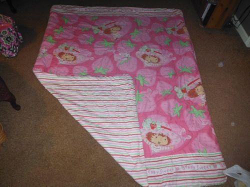 Strawberry Shortcake Comforter Toddler Bedding Set New