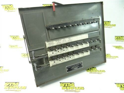 OVERHEAD CURTAIN VOTING MACHINE INSTRUCTIONAL MODEL AVM CORP