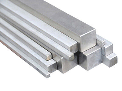 Aluminum Square Bar 6061-t6 2-12 X 36