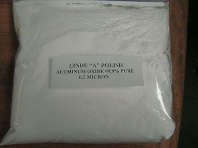 Linde  A  Polish     Aluminum Oxide 99 9   Pure  0 3 Micron     6  Ounces