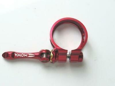 MOWA SEAT POST QR CLAMP 34.9mm Road MTB Bike Red free shipping