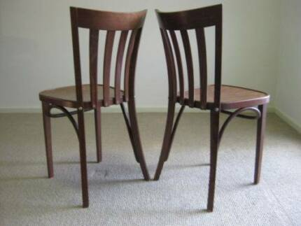 TON Bentwood Dining Chairs x 4 Keilor Downs Brimbank Area Preview