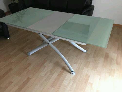 Ligne roset extendable dining to coffee table & TV stand   in ...