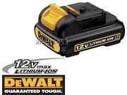 Dewalt 12V Max Battery