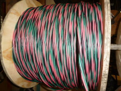 250 Ft 122 Wg Submersible Well Pump Wire Cable - Solid Copper Wire