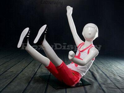 Child Fiberglass Abstract Mannequin Dress Form Display Mz-tom6