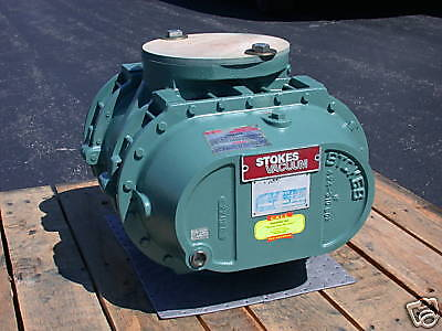 Stokes Rotary Lobe Blower Model 607-1 V- Belt Drive
