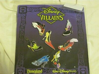 Disney Trading Pins  97736 Villain Shoes Mini-pin Set