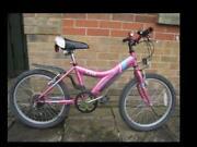 Girls Pink Apollo Bike