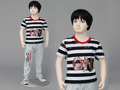 Child Fiberglass Cute Realistic Mannequin Dress Form Display Mz-ita2