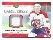 07-08 Upper Deck Game Jersey