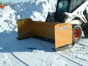 Skid Steer Snow Plow