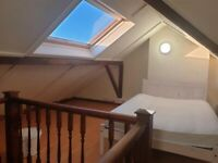 Loft Double Bedroom to Rent in Shared House, Titchfield Road SM5.