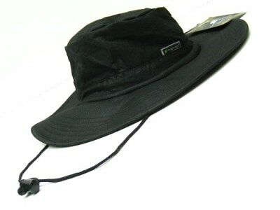 FROGG TOGGS Black Breathable Waterproof BOONIE Hat - One Size! FTH103-01