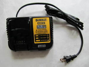 Dewalt dcb112d2 12/20v charger 2 battery combo