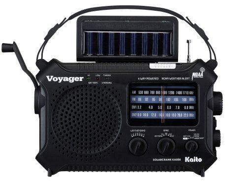 New Katio KA500 AM FM Shortwave Dynamo Solar Crank Emergency Weather Alert Radio