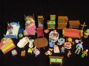 Dollhouse Accessories Lot