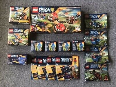 Lego Nexo Knights Lot of 16 Brand New/Sealed Sets: 70314, 70310, 70311, 30371