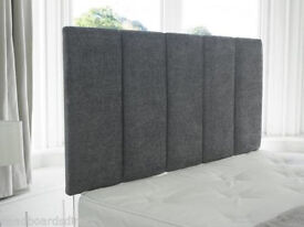 Chenille Bed Headboard New 6ft