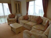 LOVELY STATIC CARAVAN SITED AT CRIMDON DENE HOLIDAY PARK , NORTH EAST COAST , SEA VIEW PITCHES