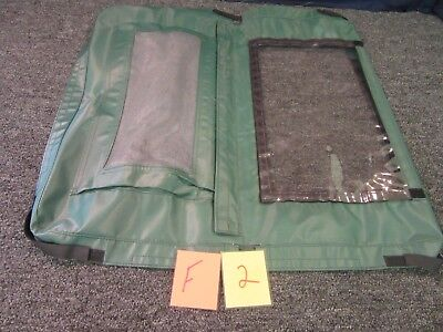 Military Electronics Cover Concord Green Vented Plastic Window 25 X 22 New