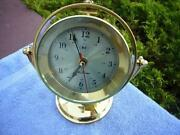 Seth Thomas Brass Clock
