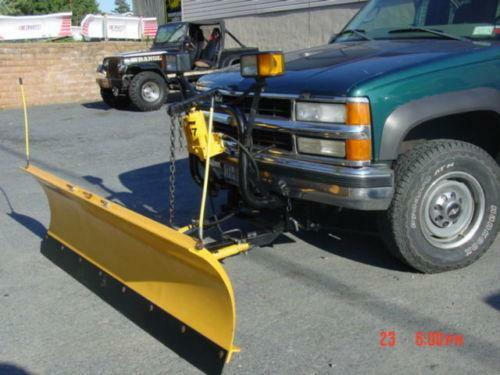 Jeep Wrangler Snow Plow >> Meyers Snow Plow Chevy | eBay