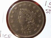 1817 Large Cent 15 Stars