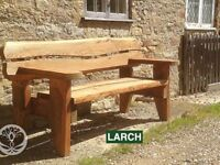 Celtic Forest Welsh Larch Monmouth Garden Bench (2 seater)