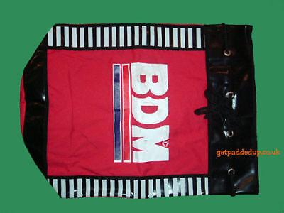 BDM Duffle Cricket Kit Bag : Training / Practice Bag : Black : Shoulder Strap
