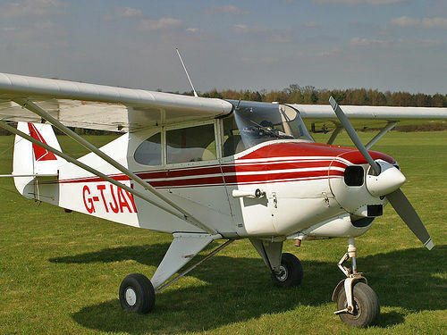 Giant 1/4 Scale Piper PA-22 Tri-Pacer Plans and Templates 89ws