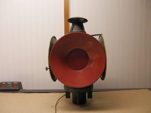 Railroad Signal Lamp Ebay