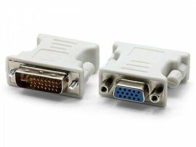 kenable DVI Splitter Cable 24+5 Male Plug to 15Pin VGA /& DVI-I Sockets