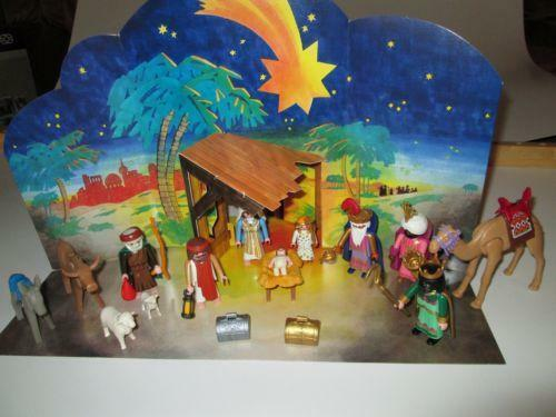 Toy Nativity Set Ebay