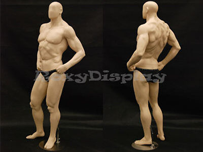 Big Muscle Male Mannequin Dress Form Display Md-manf