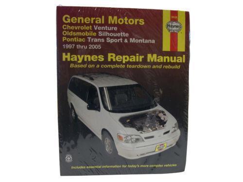 Chevrolet Venture Repair Manual