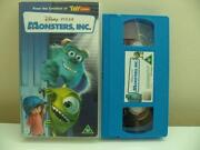 Monsters Inc VHS