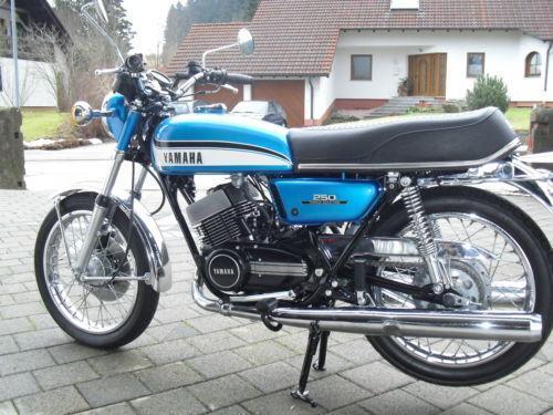Yamaha Rd 250 Motorrad Ebay